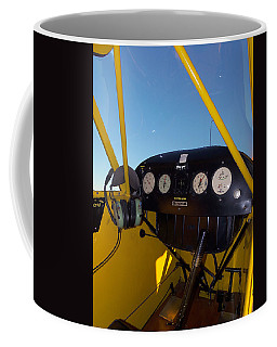 Piper Cub Dash Panel Coffee Mug