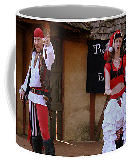 Pirate Shantyman And Bonnie Lass Coffee Mug