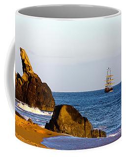 Pirate Ship In Cabo Coffee Mug