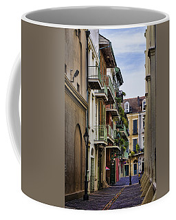 Pirates Alley Coffee Mug by Heather Applegate