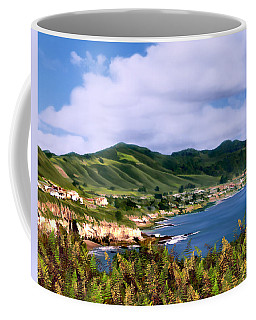 Pirates Cove Coffee Mug by Kurt Van Wagner