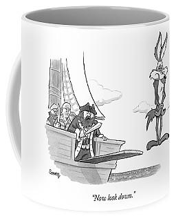 Pirates Speak To Wile E. Coyote Coffee Mug