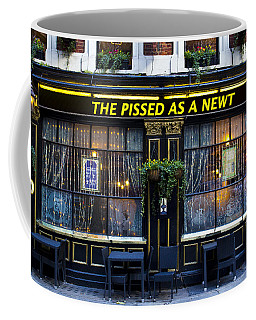 Pissed As A Newt Pub  Coffee Mug