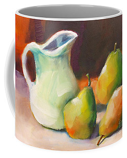 Pitcher And Pears Coffee Mug