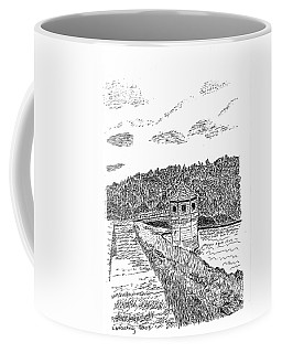 Pittsburg Dam Coffee Mug