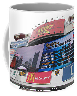 Coffee Mug featuring the photograph Pittsburgh Ketchup  by Michael Krek