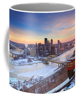 Pittsburgh Winter 2 Coffee Mug