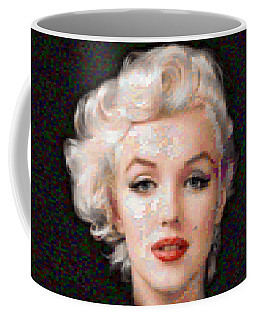 Pixelated Marilyn Coffee Mug