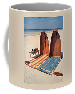 Pixie Collapsible Boat On The Beach Coffee Mug