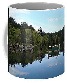 Place Of The Blue Grouse Coffee Mug by Cheryl Hoyle