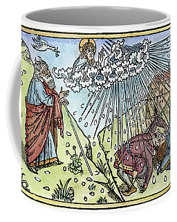 Coffee Mug featuring the painting Plague Of Hail by Granger