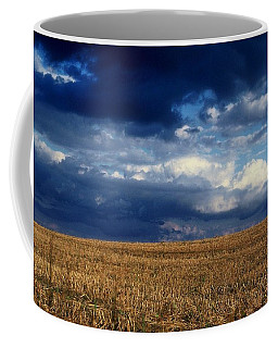 Coffee Mug featuring the photograph Plain Sky by Rodney Lee Williams