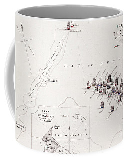 Plan Of The Battle Of The Nile Coffee Mug