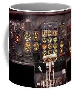 Plane - Cockpit - Boeing 727 - The Controls Are Set Coffee Mug