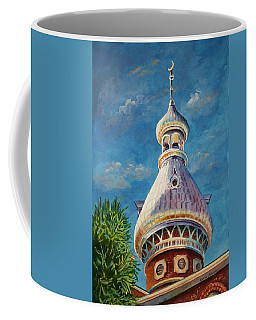 Play Of Light - University Of Tampa Coffee Mug by Roxanne Tobaison