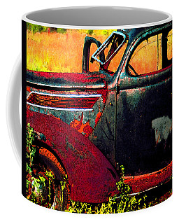 Coffee Mug featuring the photograph Played Out by Christopher McKenzie