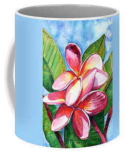 Playful Plumeria Coffee Mug