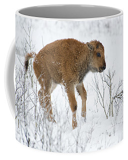 Playing In The Snow Coffee Mug