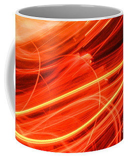 Coffee Mug featuring the photograph Playing With Fire 15 by Cheryl McClure