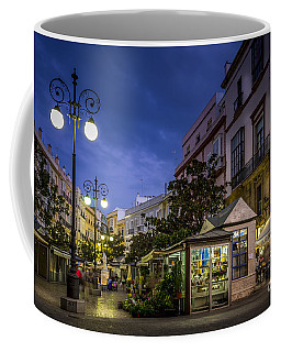 Plaza De Las Flores Cadiz Spain Coffee Mug