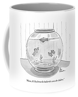 Please, Al. You Know The Backstroke Scares Coffee Mug