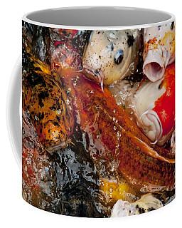 Coffee Mug featuring the photograph Please Feed Us  by Wilma  Birdwell