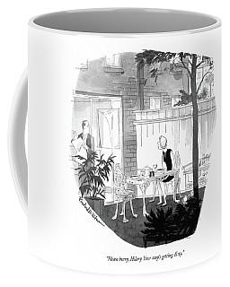 Please Hurry Coffee Mug