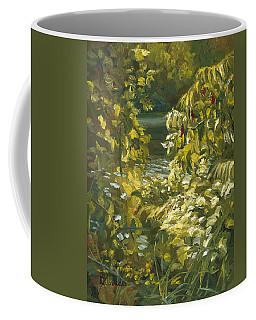 Plein Air - By The Chicopee River Coffee Mug