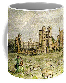 Plein Air Painting At Cowdray House Sussex Coffee Mug