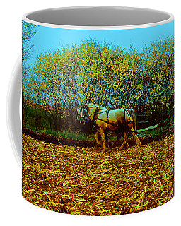 Plow Days Freeport Illinos   Coffee Mug