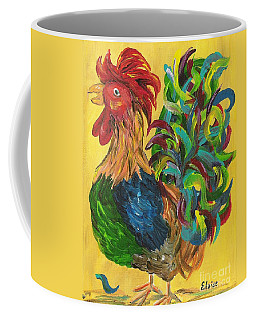 Plucky Rooster  Coffee Mug