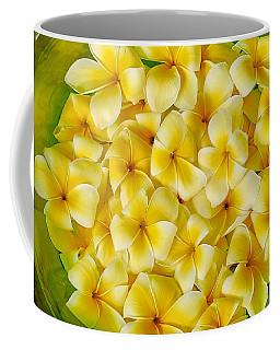 Plumerias In Bowl Coffee Mug
