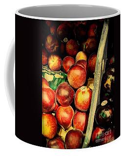 Plums And Nectarines Coffee Mug by Miriam Danar