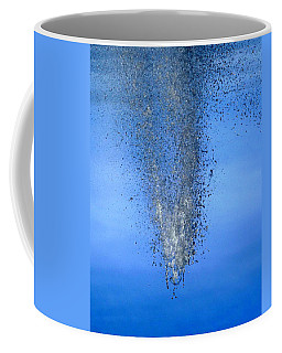 Coffee Mug featuring the photograph Plunge by Viviana  Nadowski