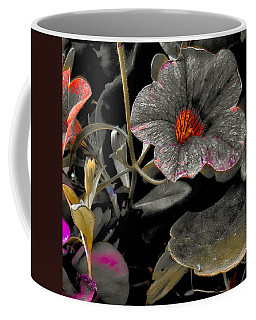 Coffee Mug featuring the photograph Pocket Of Orange by Thom Zehrfeld