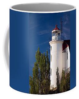 Point Betsie Lighthouse Michigan Coffee Mug
