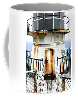 Point Reyes Historic Lighthouse Coffee Mug by Laurel Powell