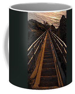 Point Reyes Lighthouse Staircase Coffee Mug