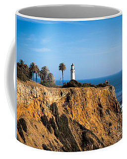 Coffee Mug featuring the photograph Point Vicente Lighthouse by Eleanor Abramson