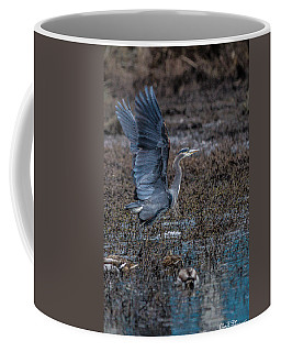 Poised For Flight Coffee Mug by Charlie Duncan