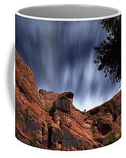 Poison Spider Mesa Under Moonlight Coffee Mug