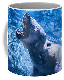 Polar Bear Coffee Mug by Chris Flees