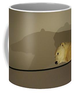 Polar Bear Shadows Coffee Mug