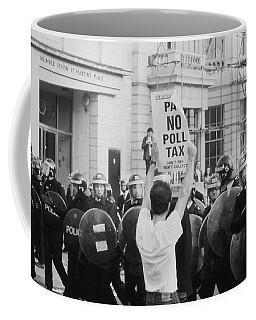 Poll Tax Riots London Coffee Mug