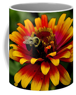 Pollenating Bumblebee Coffee Mug by James C Thomas