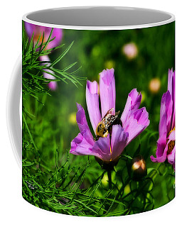 Pollinating Flowering Coffee Mug