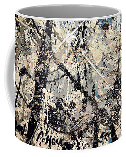 Pollock's Name On Lavendar Mist Coffee Mug