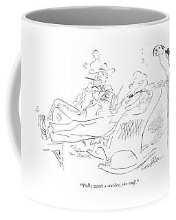 Polly Wants A Cracker Coffee Mug