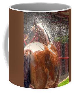Polo Pony Shower Hdr 21061 Coffee Mug