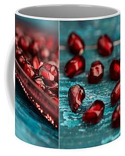Pomegranate Collage Coffee Mug